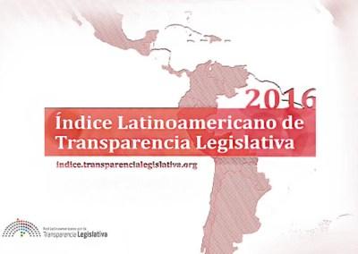 Indice Latinoamericano de Transparencia Legislativa 2016