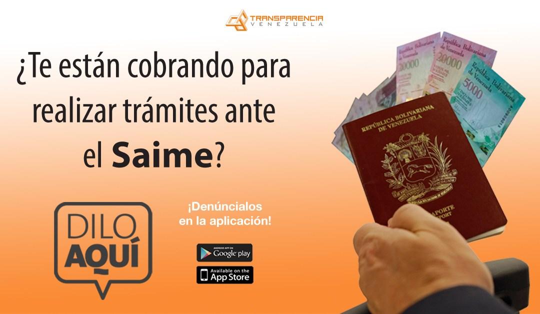 """""""Dilo aquí"""" dispuesto para la denuncia de irregularidades en entrega de pasaportes"""