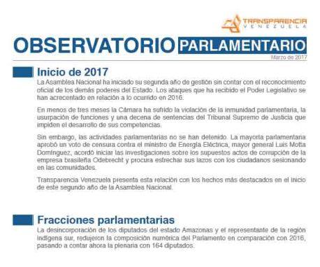 Asamblea Nacional      Enero-Febrero 2017