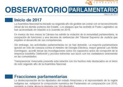 Asamblea Nacional  |   Enero-Febrero 2017