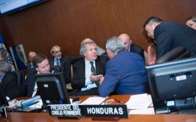 Consejo Permanente de la OEA adopta resolución sobre sucesos recientes en Venezuela