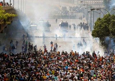 Comunicado del OVSalud ante el uso excesivo de gases lacrimógenos y agresiones contra la población civil