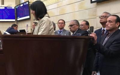 Magistrados de la AN denunciaron atropellos ante el Senado colombiano