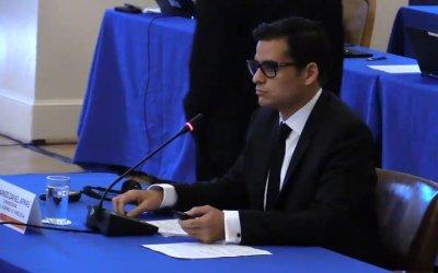 Diputado Armando Armas denuncia agresiones contra la AN ante la OEA
