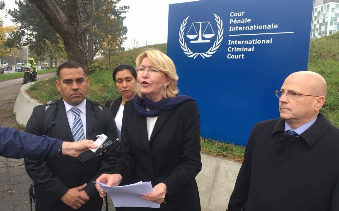 Why does Ortega Díaz consider that crimes against humanity have been committed in Venezuela?
