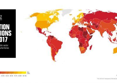 Índice de Percepción de la Corrupción (IPC): 2017