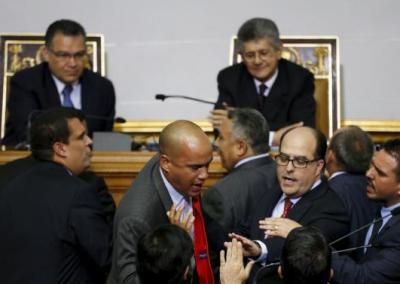 El Asedio del Gobierno al Parlamento Nacional