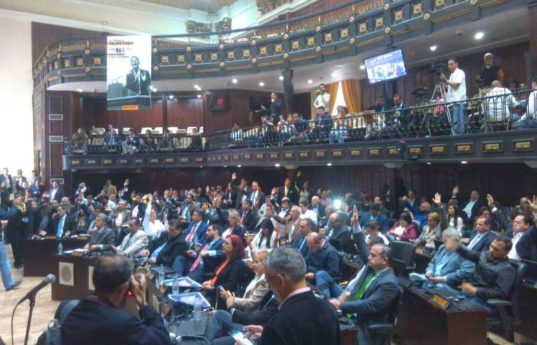 Con 105 votos a favor la Asamblea Nacional aprobó antejuicio de mérito contra Nicolás Maduro
