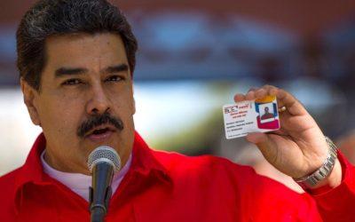 Gobierno mezcla el Carnet de la Patria con el del PSUV en su campaña electoral