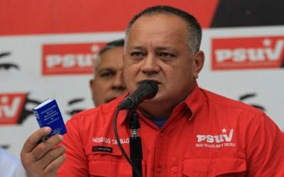 Diosdado Cabello arremete de nuevo contra la Asamblea Nacional y la amenaza con referendo revocatorio