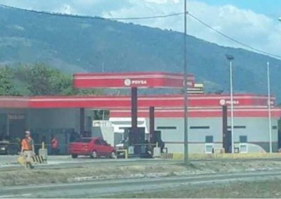 Todo por un tanque de gasolina
