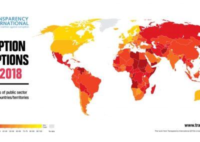 Venezuela repite como el país más corrupto de América