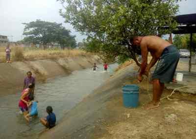Barinas   Barinas sobrevive con solo 50% de agua
