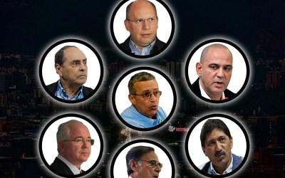 Los ministros del apagón