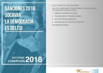 Sanciones en 2018: socavar la democracia es delito