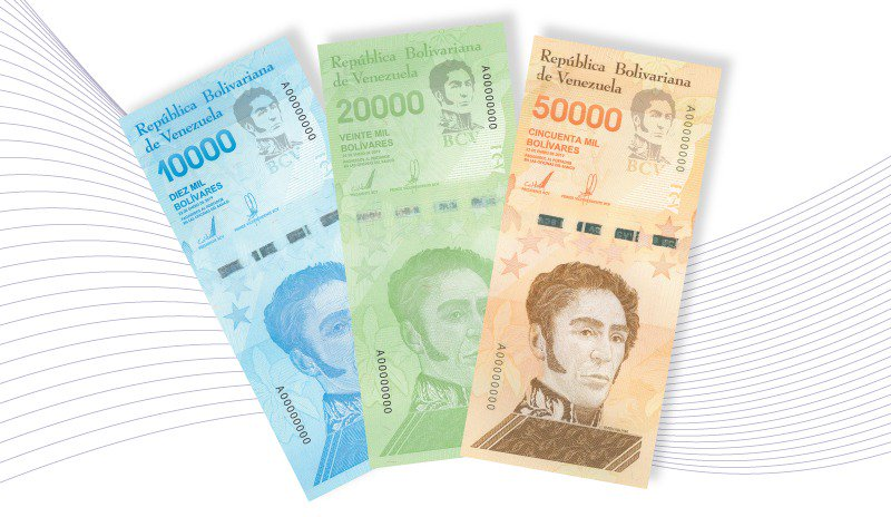 """BCV """"corre la arruga"""" con la impresión de nuevos billetes"""