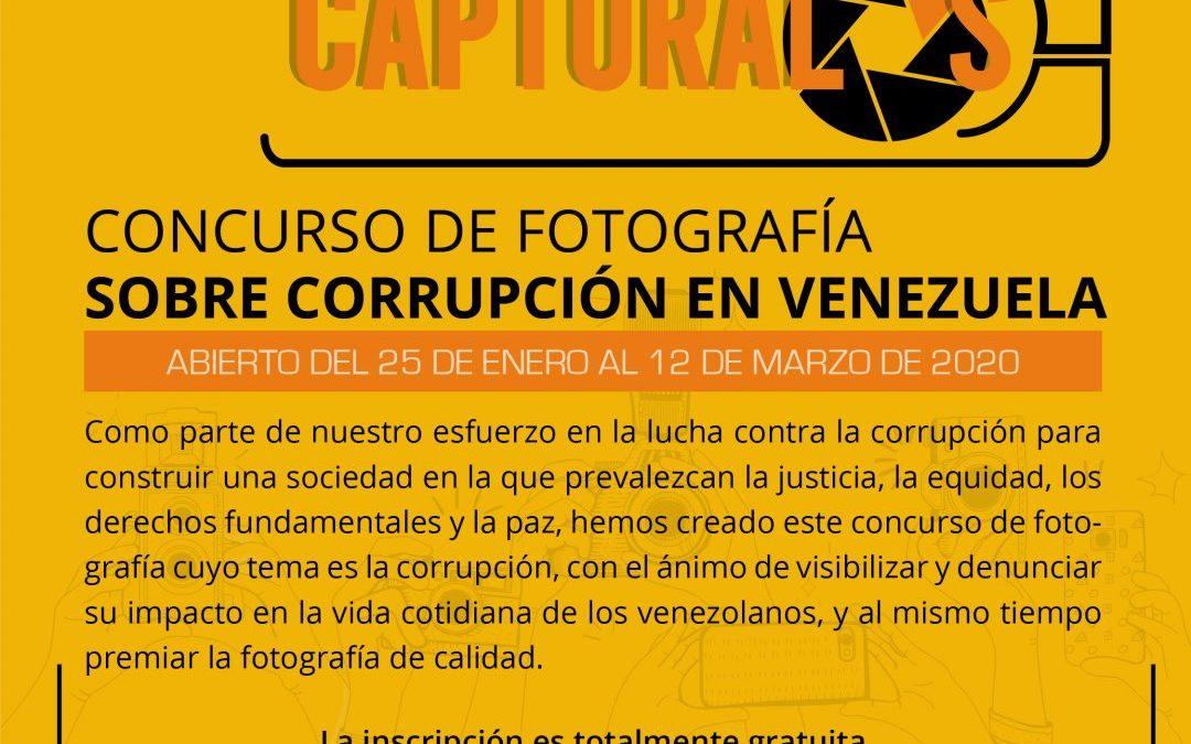 Captúralos, un jurado altamente calificado premiará las imágenes sobre corrupción para Transparencia Venezuela