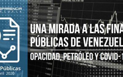 Boletín | Una mirada a la finanzas públicas en Venezuela: opacidad, petróleo y Covid-19