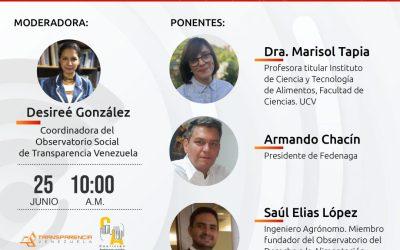 Situación alimentaria en Venezuela está bajo esquemas de corrupción y opacidad