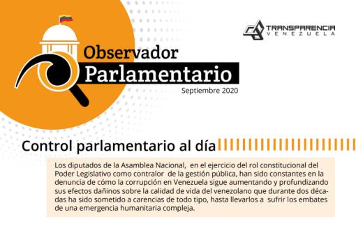 Boletín   Control parlamentario al día