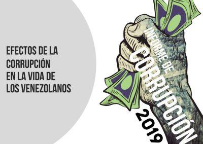 Informe de corrupción 2019 – Corrupción y regiones de Venezuela. Visiones locales de un drama nacional