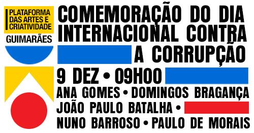 Dia Internacional Contra a Corrupção (9 Dez)