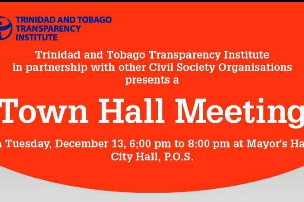 Town Hall Meeting December 2016