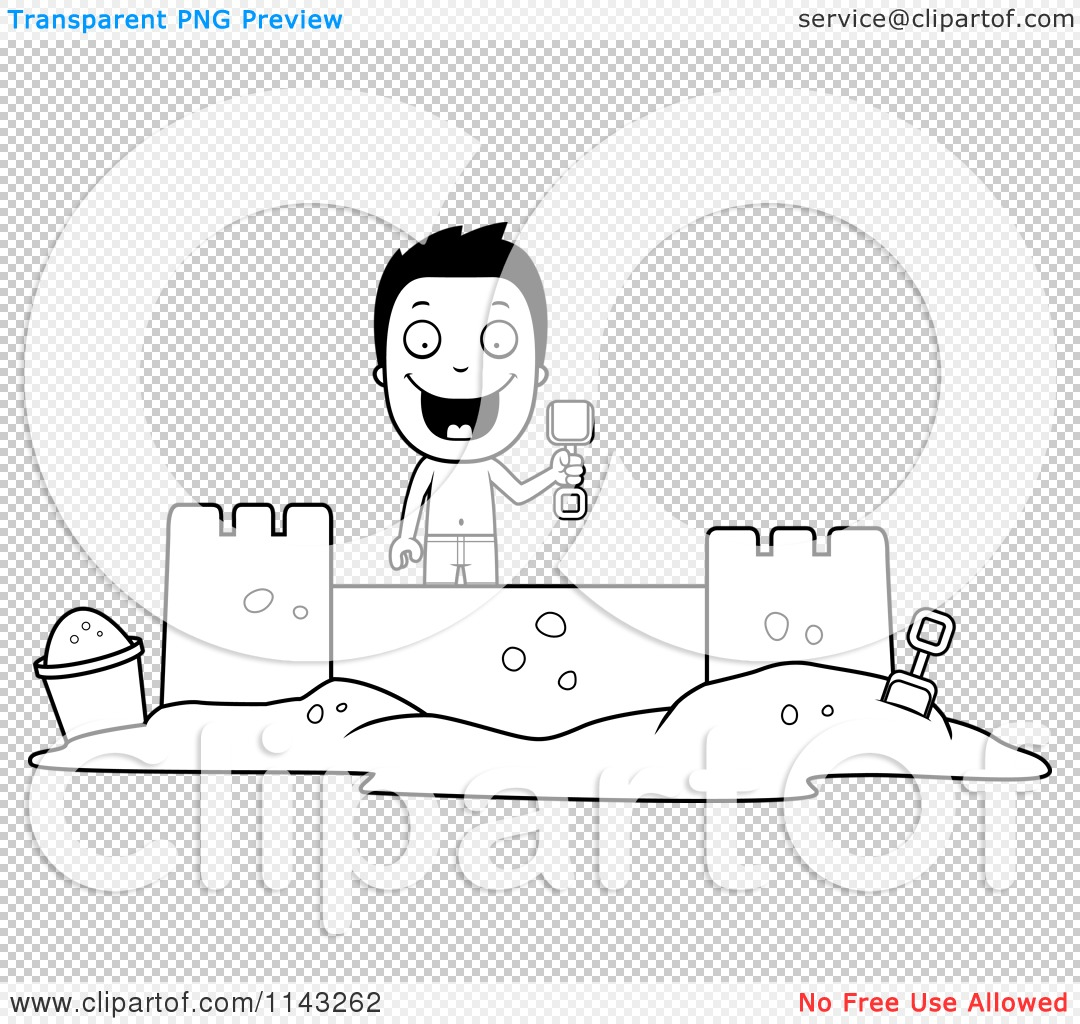 displaying 14 gt images for sand bucket clipart black and white