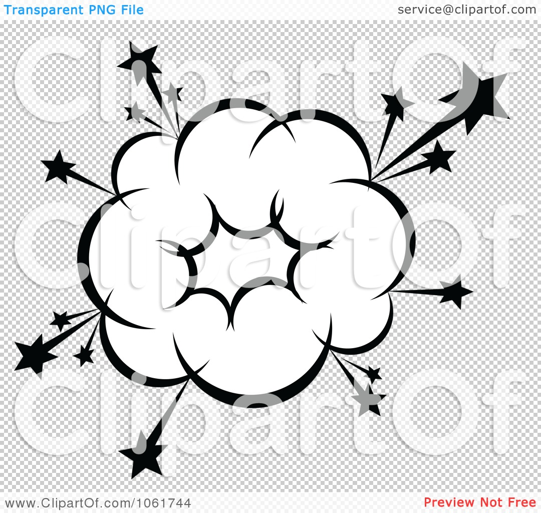 Clipart Comic Explosion Design Element 13