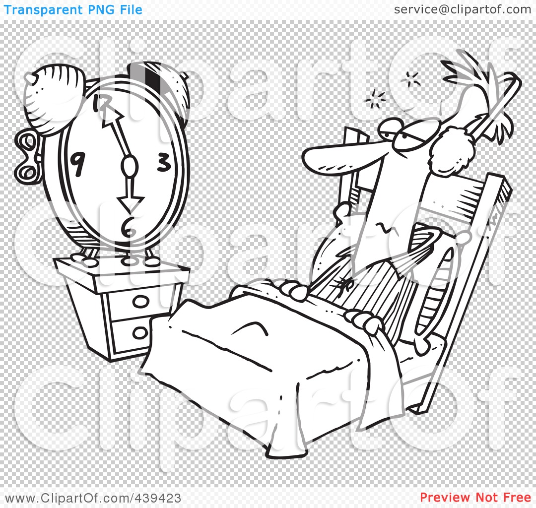Royalty Free Rf Alarm Clock Clipart Illustrations