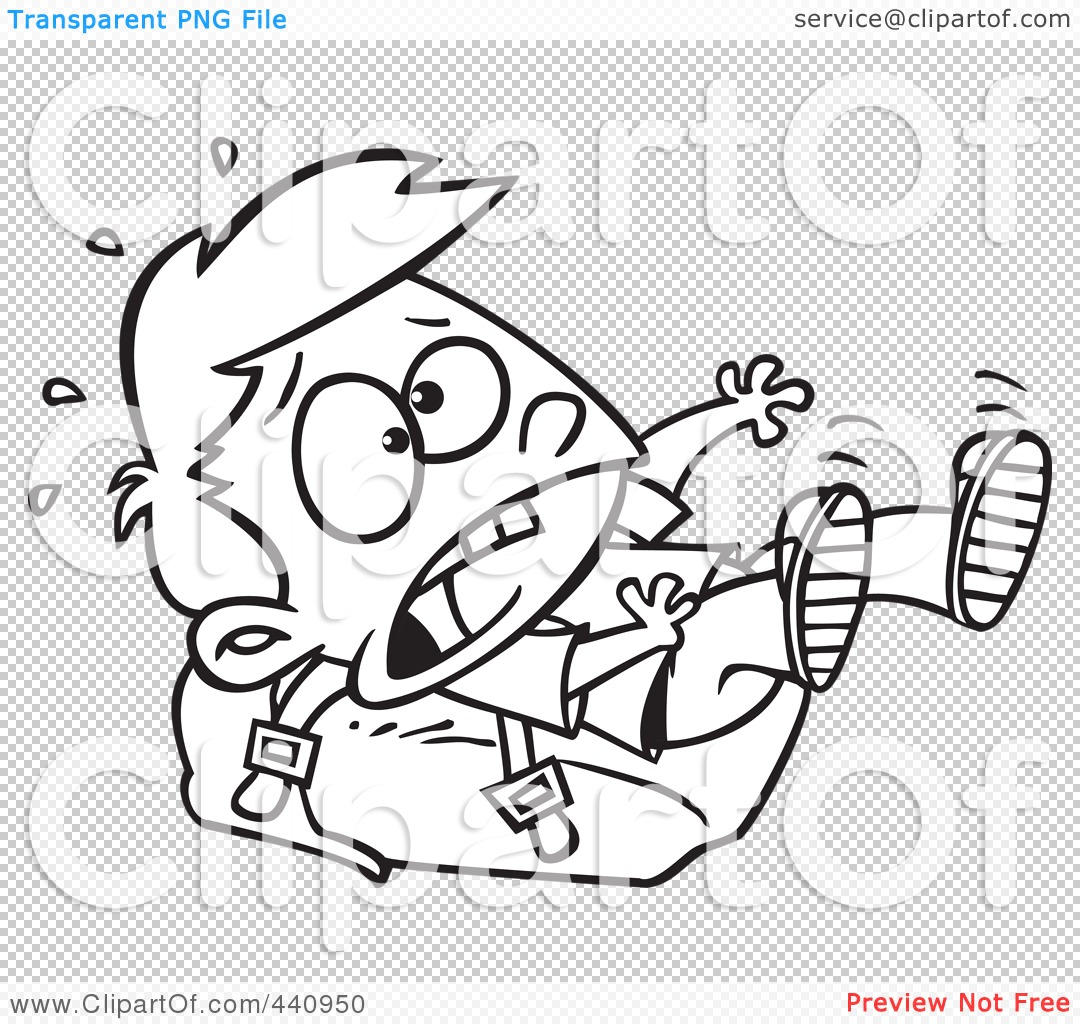 Royalty Free Rf Clip Art Illustration Of A Cartoon Black And White Outline Design Of A School