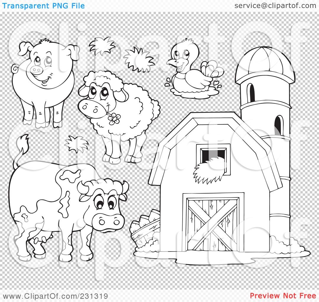 clipart farm animal