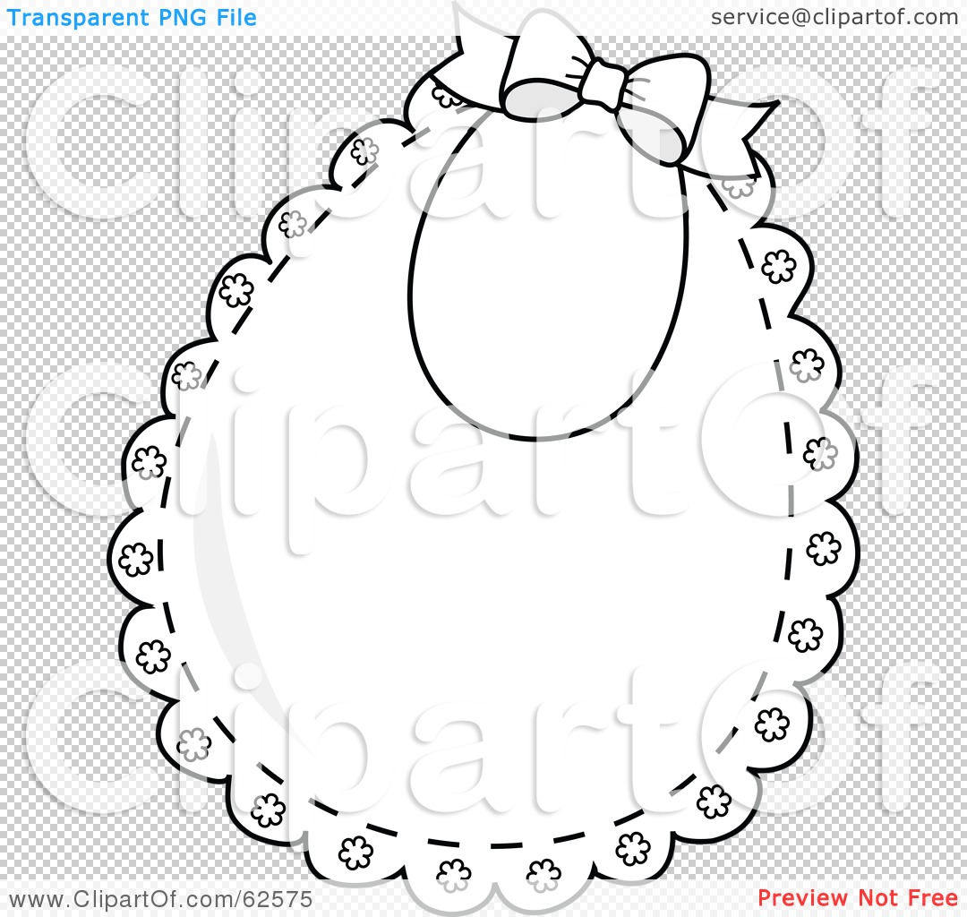Royalty Free Rf Clipart Illustration Of A Lacy White