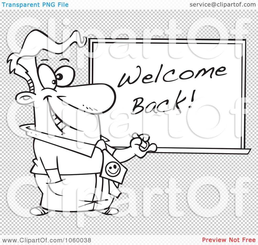 Royalty Free Vector Clip Art Illustration Of A Cartoon