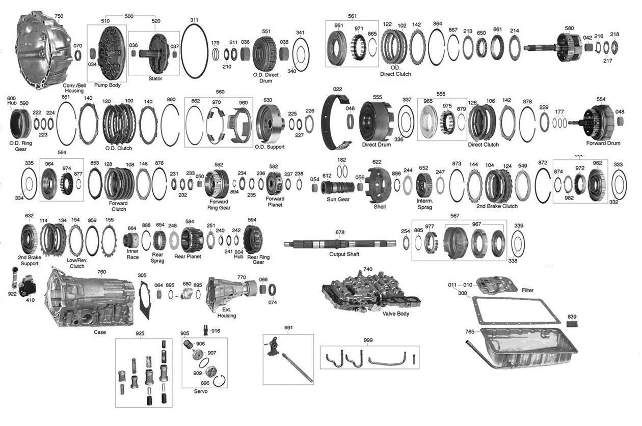 Allison 740 Transmission Wiring Diagram
