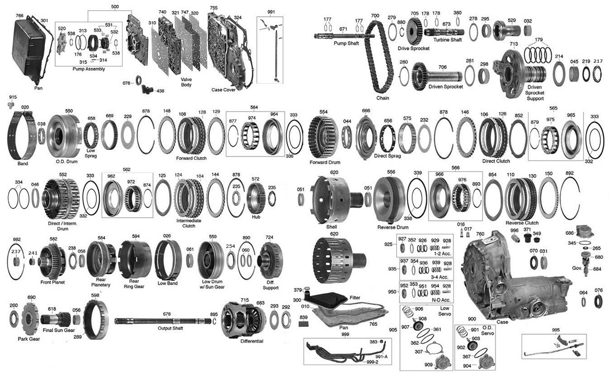 Ford Escape Parts Diagram