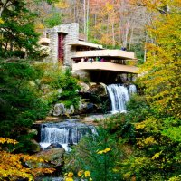 An Autumn Wonderland: Frank Lloyd Wright's Fallingwater, Kentuck Knob, and Ohiopyle State Park