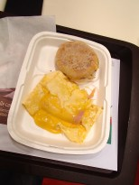 omelette prosciutto