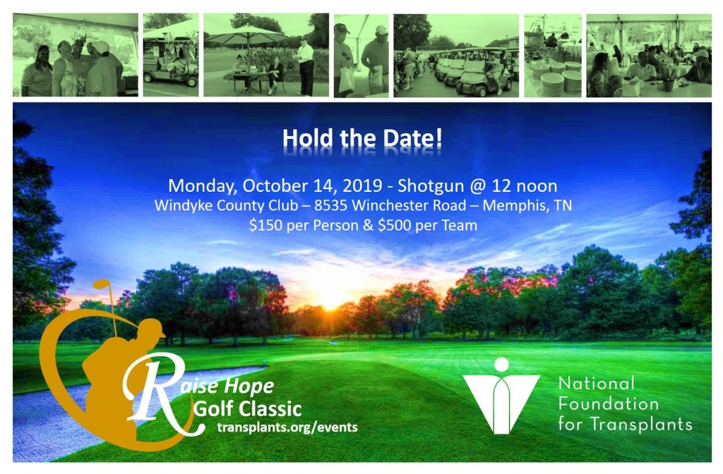 National Foundation for Transplants 2019 Golf Classic Event
