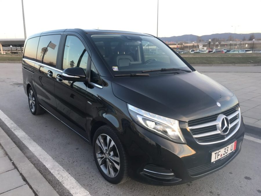 VIP V class Chauffeur Services