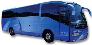 Autobus privado para 50 Personas