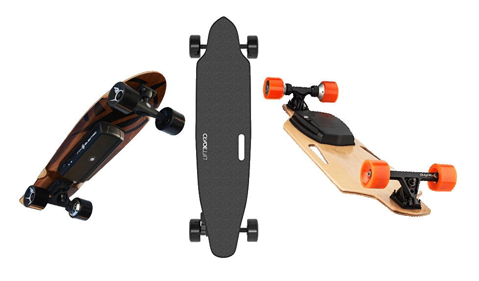 Best Electric Skateboard Comparison Header Image