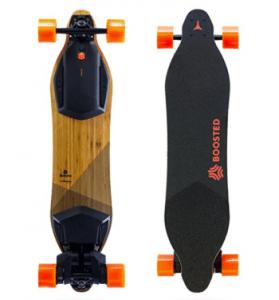 Gen2 Boosted Board - Top + Bottom Birds Eye View - Voted Best Electric Skateboard