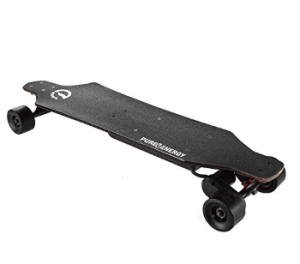 Pure Energy Electric Longboard - Black
