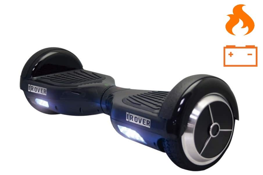 July 2016 – iRover Recall Due To Potential Fire Hazard