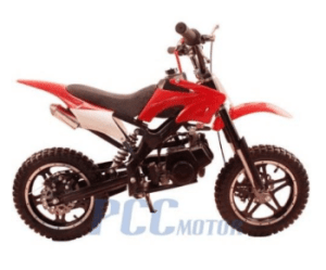 Dirt Mini Bike - Red + White