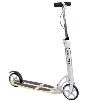 Xootr Adult Kick Scooter - White