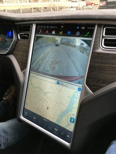Tesla Model S User Interface