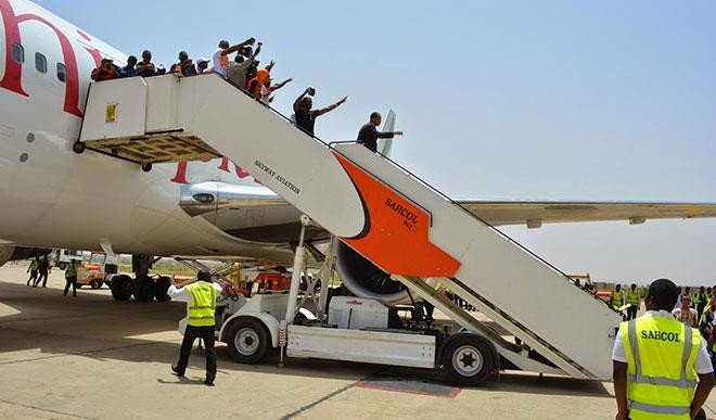 SAHCO selected to provide ground-handling services to Ethiopian Airlines