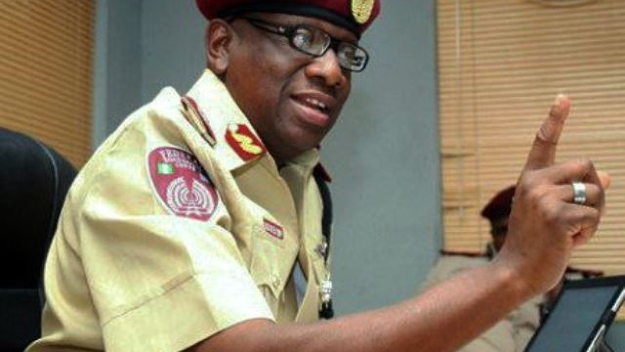 FRSC to sanction officer who jumped on a moving vehicle